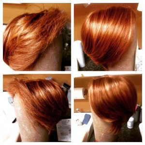 wig styling and repairs